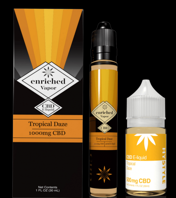 Hystyle 30ml CBD Vape Juice - Tropical Daze (250mg-1000mg)