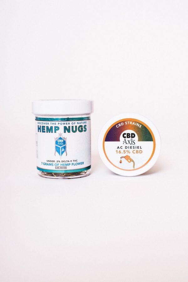 Axis CBD Hemp Flower 1/4 Jar (multiple strains available)