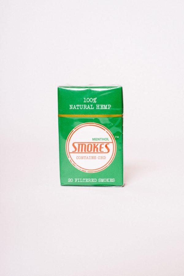 Hemp Smokes CBD Cigarettes - Menthol (20 pack)