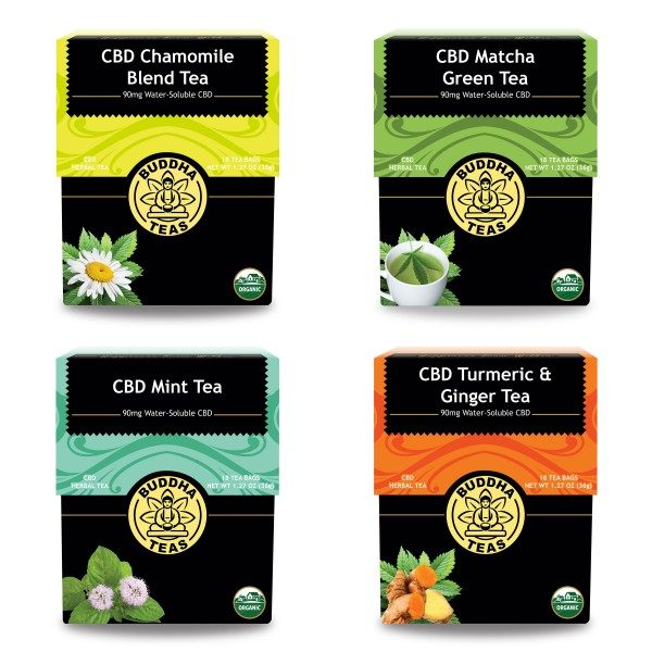 Buddha Teas - Four pack - CBD Tea