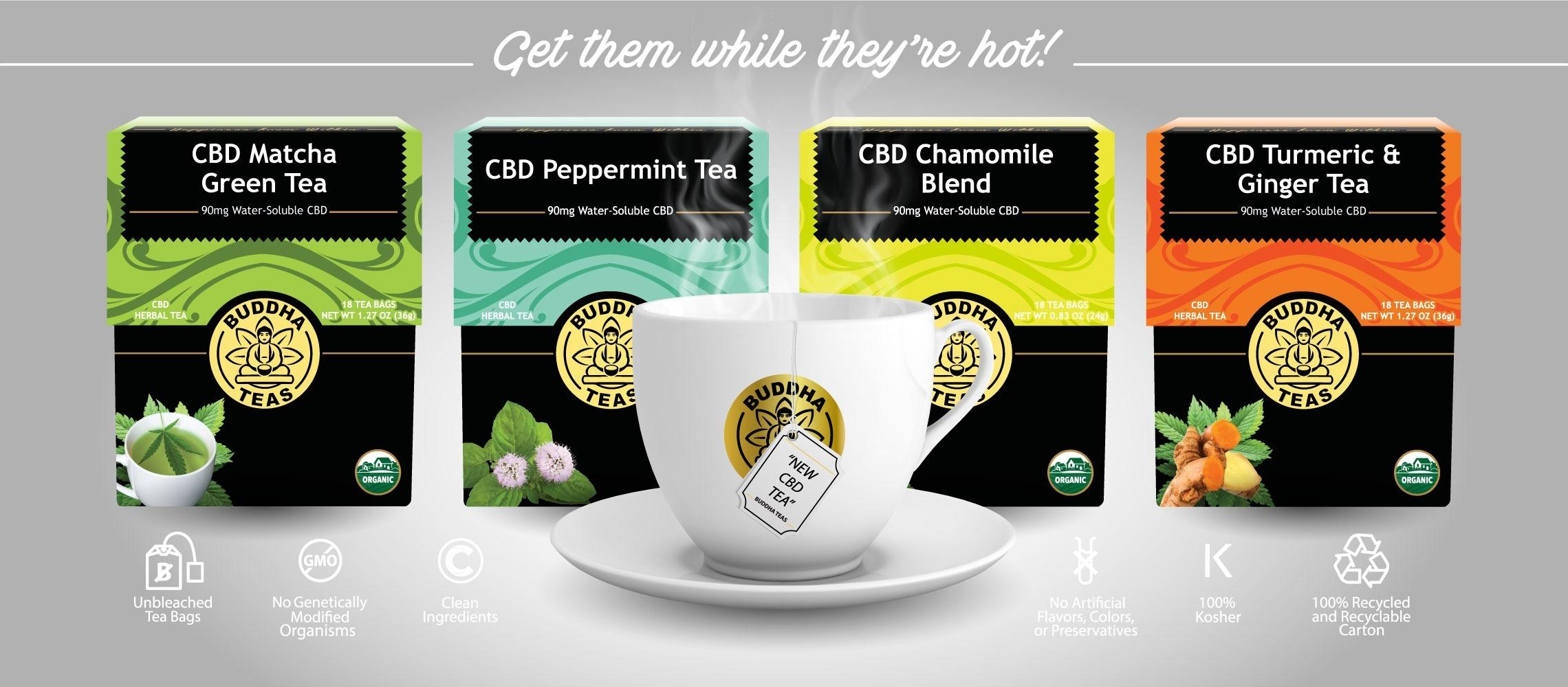 Buddha Teas - CBD Peppermint Tea